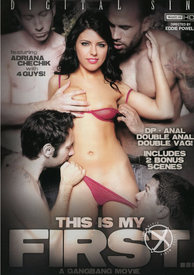 This Is My First A Gangbang Movie
